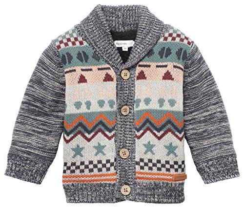 Noppies Baby-Jungen Strickjacke B Cardigan Knit Arcadia, Mehrfarbig (Multi Color C310), 62