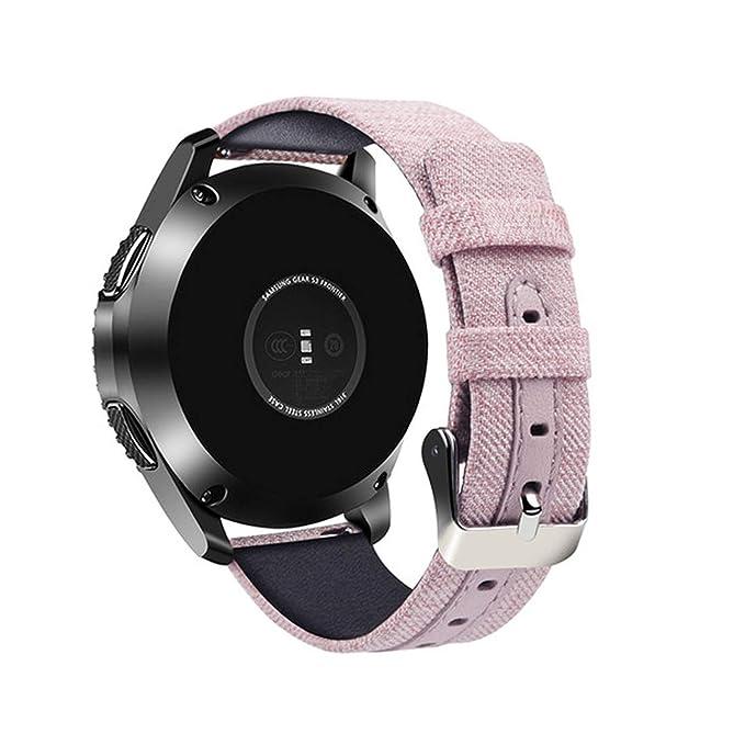 Gear S3 Er - Correa de Reloj para Samsung Galaxy Watch (Nailon de ...