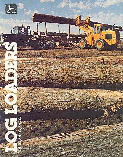 1981 John Deere Log Logging Loader Brochure