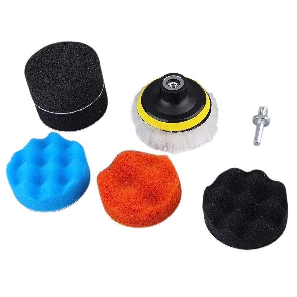 7 Polieren Polieren Pad Auto Polierer Puffer Set mit HSS-Adapter-Kit TILY SPSUDKQ3364