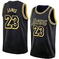 YINGH NBA Jersey Baloncesto Ropa Nueva Temporada NBA Lakers Jersey, James Retro Baloncesto Uniforme Verano Sudadera Transpirable Jerseys Shorts Tallas múltiples