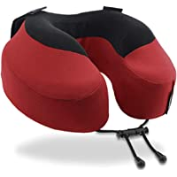 Cabeau Evolution S3 Travel Pillow – Straps to Airplane Seat – Ensures Your Head Won't Fall Forward – Relax with Plush Memory Foam – Quick-Dry Fabric Keeps You Cool and Dry
