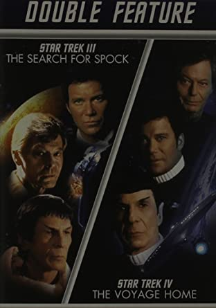 Amazon com: Star Trek III: Search for Spock / Star Trek IV: The