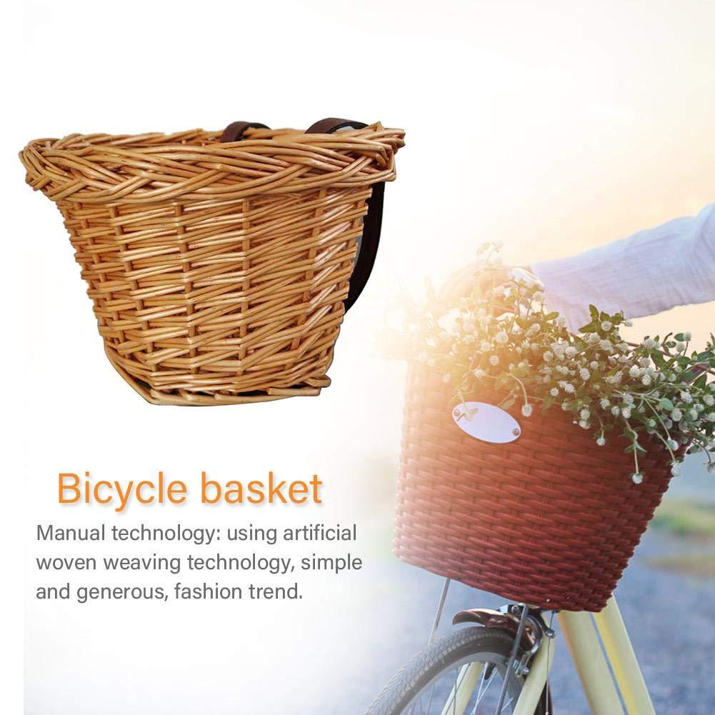 G-wukeer Cestino della Bicicletta Posizione Regolabile del Cestino della Bicicletta dei Bambini per Tutte Le Biciclette dei Bambini