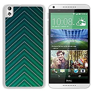 Leafy Pattern (2) Durable High Quality HTC Desire 816 Phone Case
