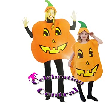 5bccb7003b Pumpkin Adult or Child Fancy Dress Costume  Amazon.co.uk  Toys   Games