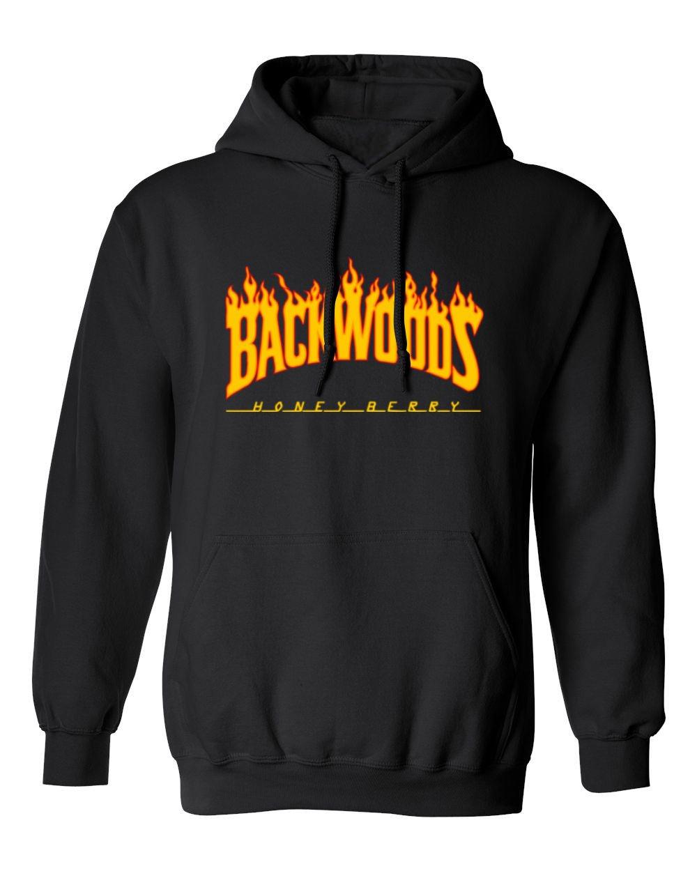 Shirt Flame Backwoods S Hooded