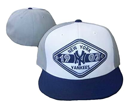 5953ac33acfa9 Image Unavailable. Image not available for. Color  New York Yankees MEGA  SAUCE Fitted Size 7 3 8 Hat Cap ...