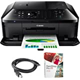 Canon PIXMA MX922 Wireless Inkjet Office All-In-One Printer (6992B002) with High Speed 6-foot USB Printer Cable & Corel Paint Shop Pro X9