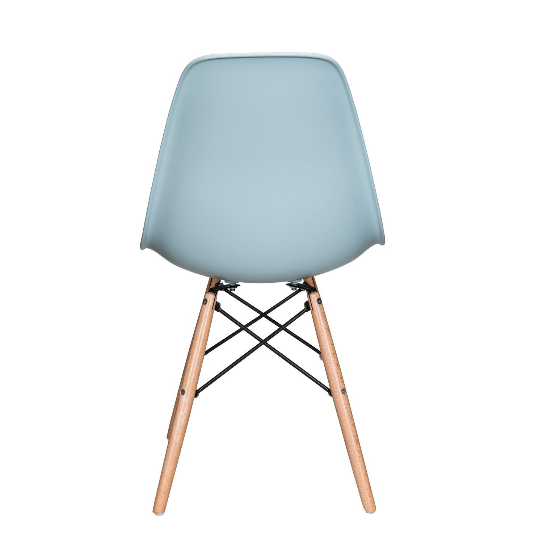 Amazon.com: Nature Series azul hielo DSW silla de comedor ...