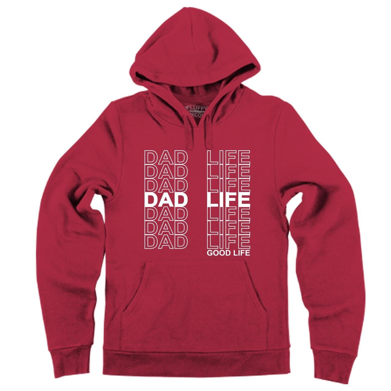 Comical Shirt Mens Dad Life Hoodie