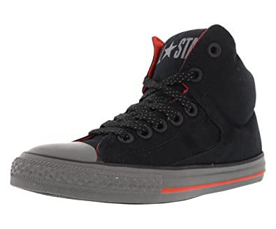 b17ed1da697e Converse Kid s Boys Girls Chuck Taylor All Star High Street Hi Top Fashion  Sneaker Shoe