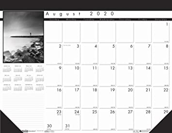 Amazon.: House of Doolittle 2020 2021 Monthly Desk Pad