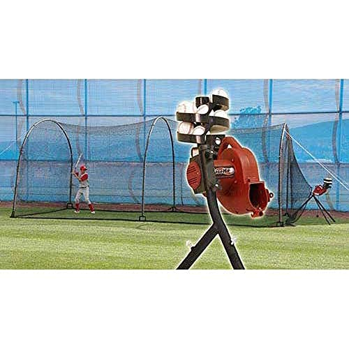 Batting Cage With Pitching Machine Amazon Com
