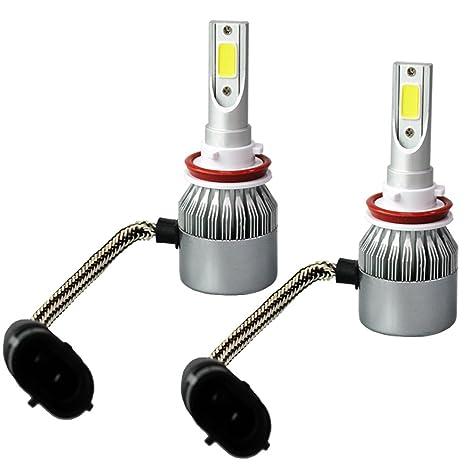 ROKOO® C9 - Kit de bombillas led para faros delanteros, 110 W y 20000