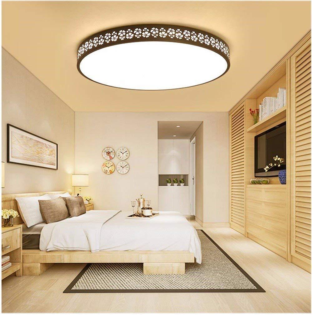 Yaomeimei シーリングライト、ホームリビングルームのベッドルームシーリングライト、超薄型LEDシーリングランプランプランプクリエイティブな雰囲気とモダンなベッドルームラウンジシンプルな長方形ホール、MウォークランプW、モダンなホテル (Color : I, サイズ : 50*4.5cm(36w))   B07T46JT14