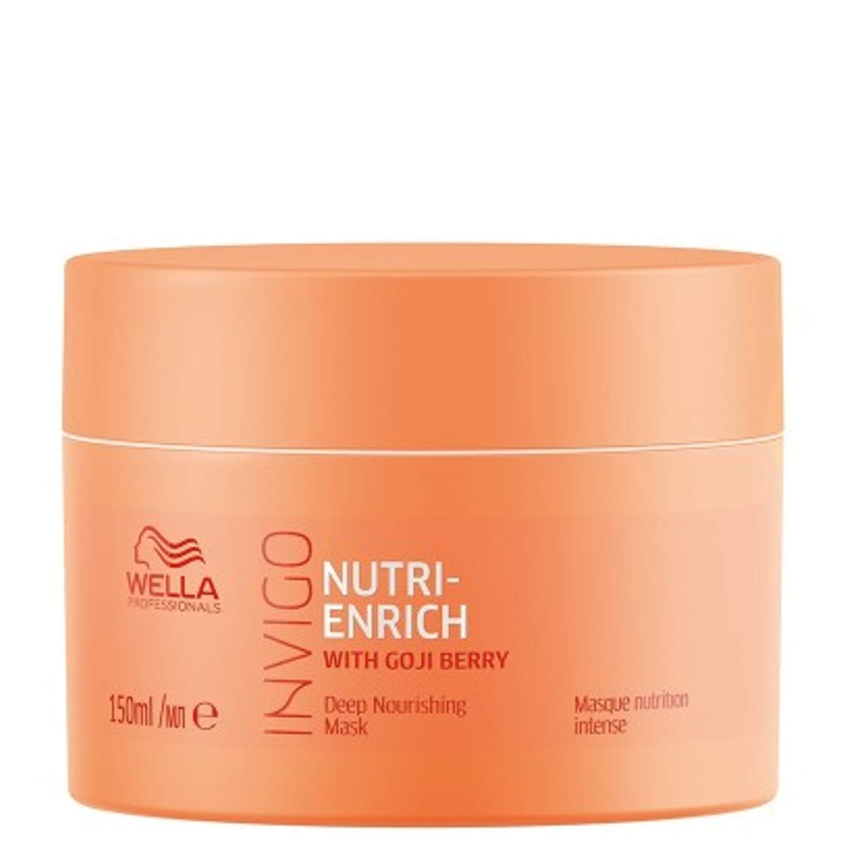 Wella INVIGO Nutri Enrich Maske mascarilla para el pelo Unisex 150 ml - Mascarillas para el cabello (Unisex, Cabello seco, 150 ml, Nutritiva, 1 pieza(s))
