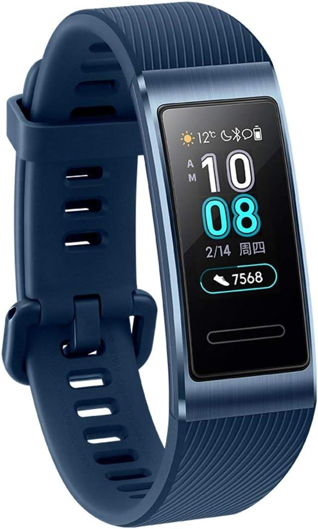 Candybarbar para Huawei Band 3 Pro Reloj Inteligente con GPS Incorporado Pantalla táctil AMOLED Reloj de Pulsera Impermeable de 50 m