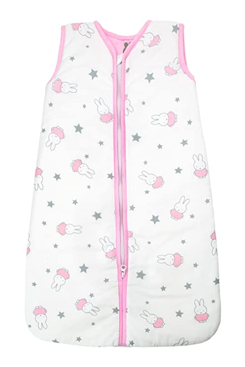 Briljant Baby zomer slaapzakmaat70nijn120r Saco de dormir de verano con cremallera con Miffy, 70 cm