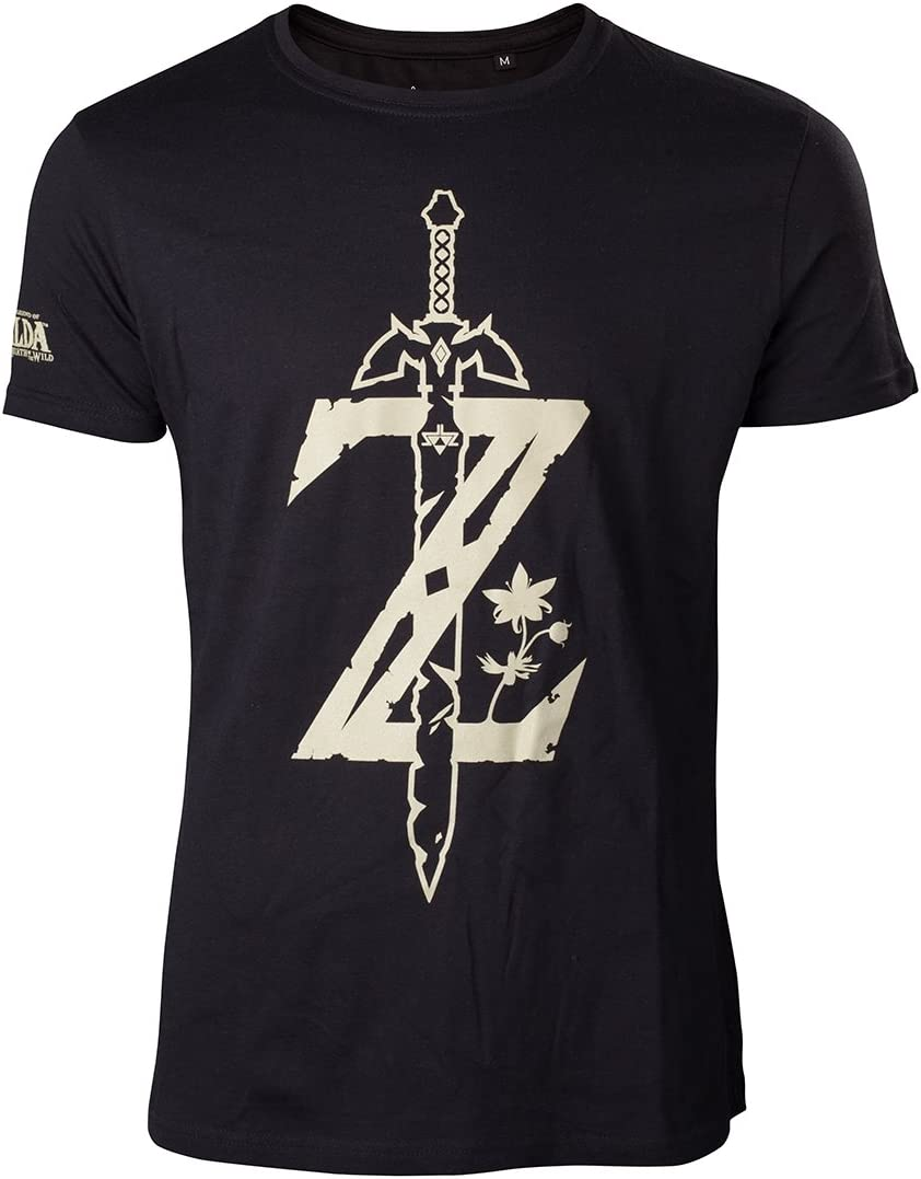 Unbekannt Zelda Breath of The Wild - Camiseta con Espada: Amazon.es: Videojuegos