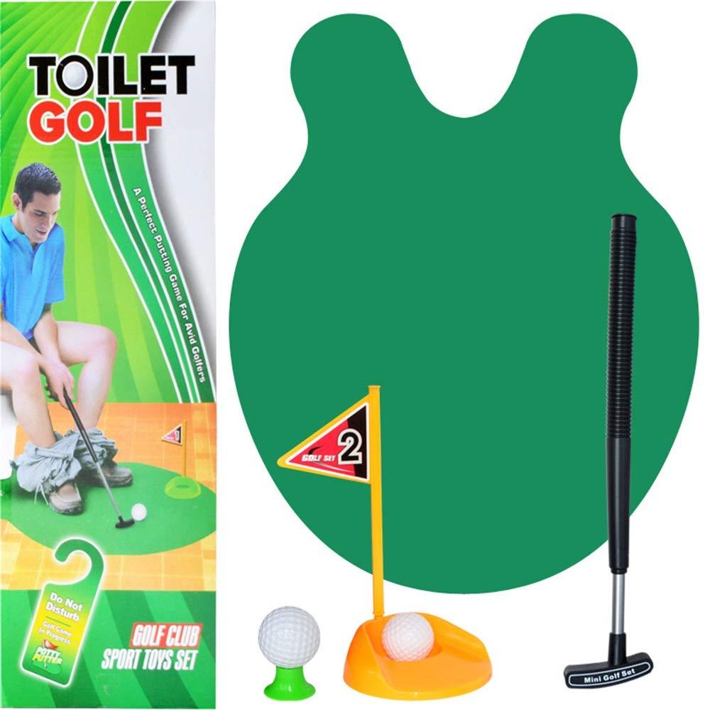 BGROEST-SP Golf para niños Golf del Inodoro, Set de baño del ...