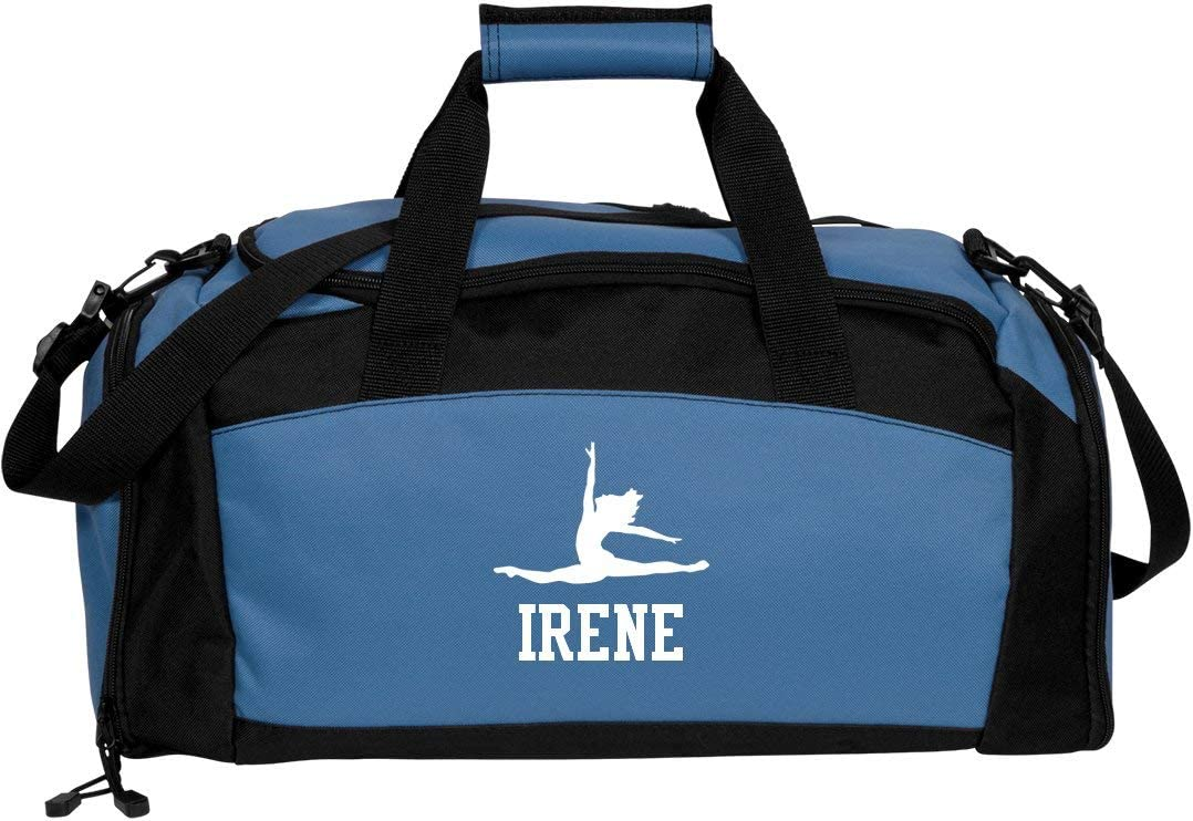 Gym Duffel Bag FunnyShirts.org Irene Gymnastics /& Dance