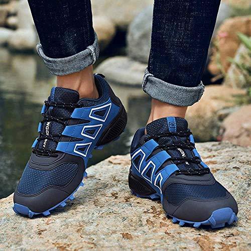 Deportes Atlético Calzado Aire Libre Seguridad 0007 Al Deporte Trabajo Azul Logobeing De Hombres Senderismo Zapatillas 4XpxqYwB