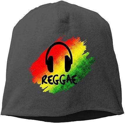 N/A NA Reggae Music Jamaica Rasta Hipster Gorro de Invierno con ...