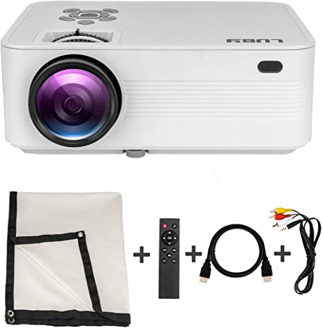 Amazon.com: Luby Mini proyector de película portátil + 10 ...
