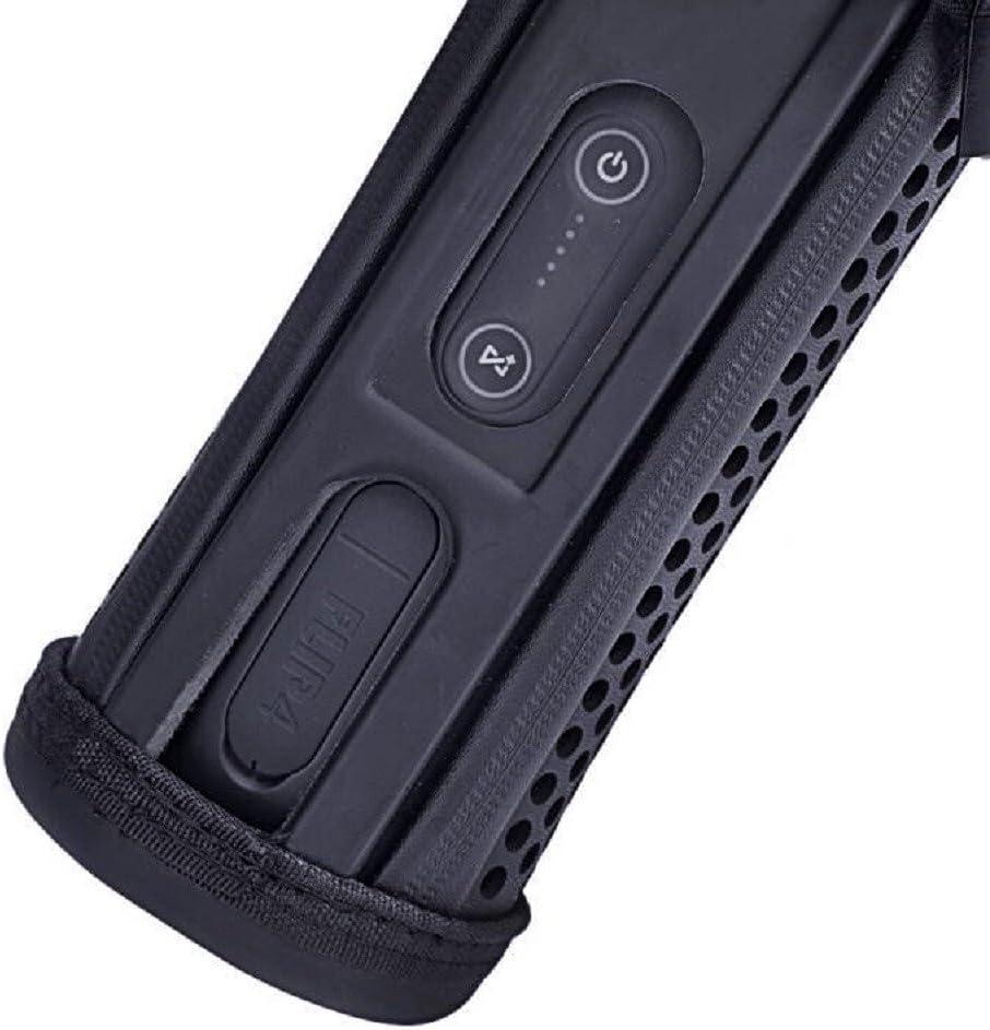 1 LuckyNV Hard Eva Carrying Travel Case f/ür JBL Flip 3 4 wasserdichte tragbare Bluetooth-Lautsprechertasche Passend f/ür USB-Kabel und Zubeh/ör