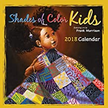"""Shades of Color Kids 2018 African American Calendar by Frank Morrison, 12"""" x 12"""" (18SK)"""