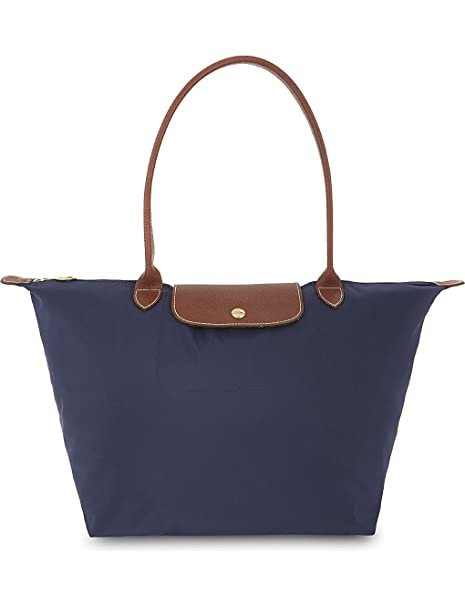 Amazon Bag L Navy Blu Longchamp Tote Valigeria it Donna Yxq65an