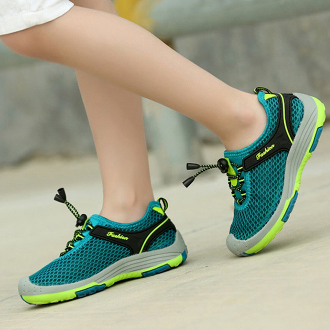 ON Kids Boys Girls Mesh Hiking Shoes Boating Water Shoes Outdoor Walking Sneakers