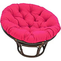 Papasan Chair with Fabric Cushion, Garden Round Seat Pads in Water Resistant Fabric Hammock Swings Chair Cushion for…