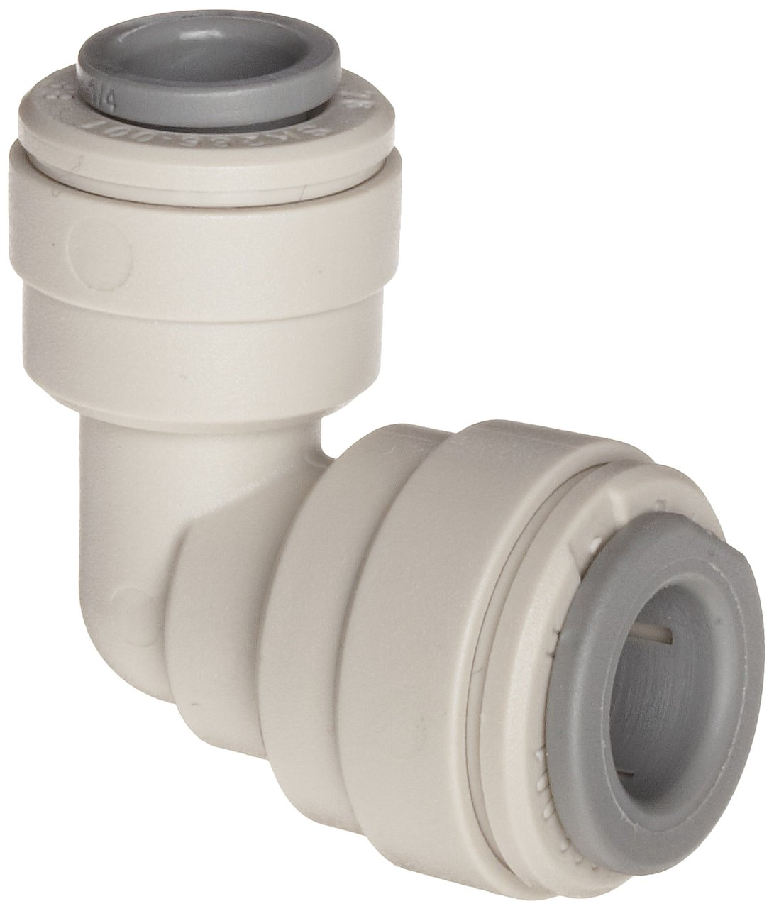 John Guest Acetal Copolymer Tube Fitting, Reducing Elbow, 5/16'' x 1/4'' Tube OD (Pack of 10) by John Guest