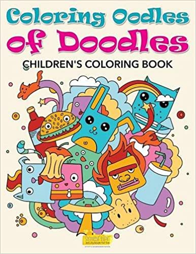 Coloring Oodles Of Doodles Childrens Book Amazoncouk Smarter Activity Books For Kids 9781683745563