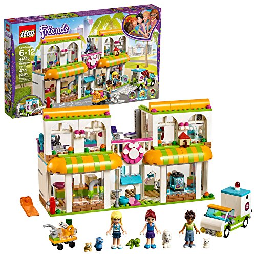 LEGO Friends Heartlake City Pet Center 41345 Building Kit (474 Piece) -