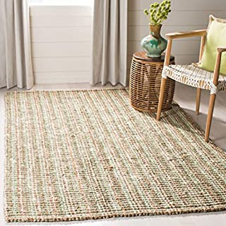 Safavieh Natural Fiber Collection NF447S Hand Woven Sage and Natural Jute Area Rug (6' x 9') (B00PNQRB3A) | Amazon price tracker / tracking, Amazon price history charts, Amazon price watches, Amazon price drop alerts