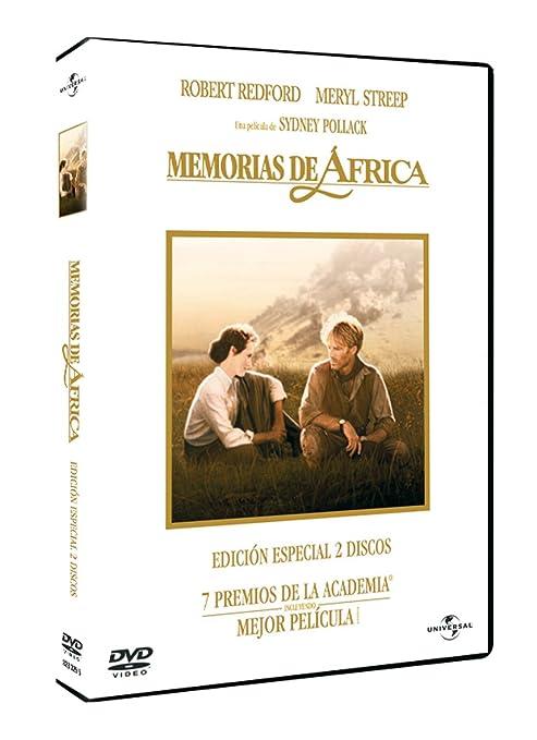 Memorias de África (2 DVDs) (Edición especial): Amazon.es: Meryl Streep, Robert Redford, Graham Crowden, Leslie Phillips, Mike Bugara, Michael Kitchen, Joseph Thiaka, Klaus Maria Brandauer, Sydney Pollack, Meryl Streep, Robert Redford, Sydney