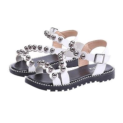 91f77ad0ed4a1 ♬GongzhuMM Sandales Bébé Fille 27-31 Chaussures Fille Été Chaussures  Romaines Enfant Fille avec