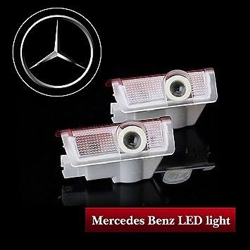 amazon kobwa for mercedes benz led レーザーロゴライト カー用