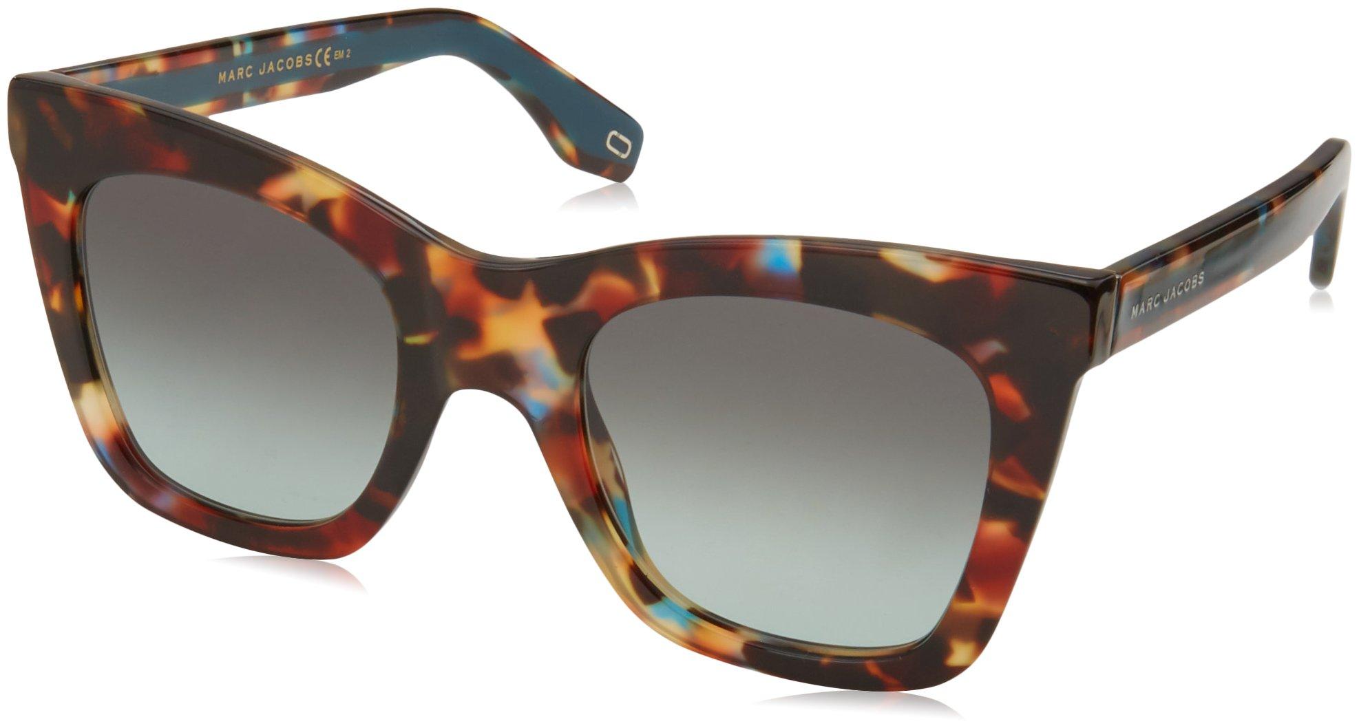 Marc Jacobs Women's Marc279s Cateye Sunglasses, Havnturqu, 50 mm