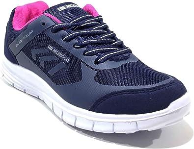 Zapatilla Mujer Andar NICOBOCO Ligera Y Comoda Walking 64-275 Marino: Amazon.es: Zapatos y complementos