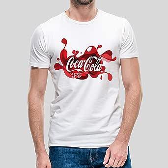 kharbashat Coca-Cola T-Shirt for Men, Size XL - White