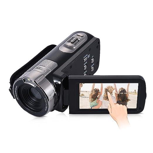 13 opinioni per Andoer HDV-302P Schermo LCD 3,0 Pollici Full HD 1080P 15FPS 24MP 16X Zoom