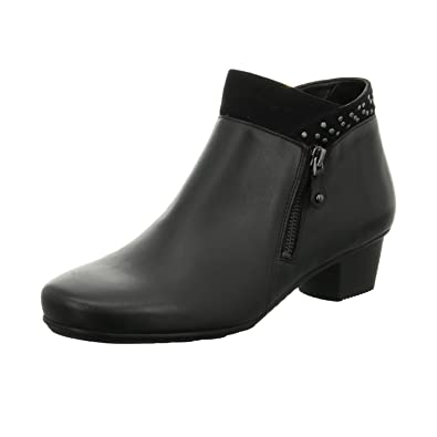 94a9d8ca379 Jenny by ara Womens Santiago Colour  Black Black Size  8  Amazon.co ...