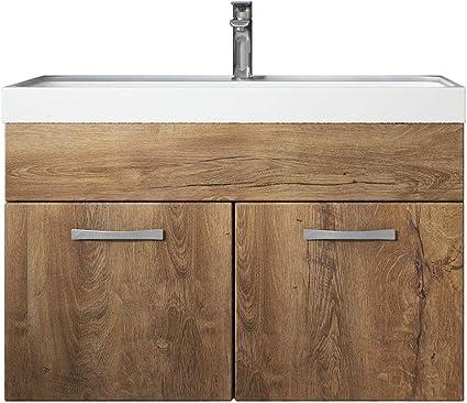 80 cm breite Waschbecken mit Unterschrank
