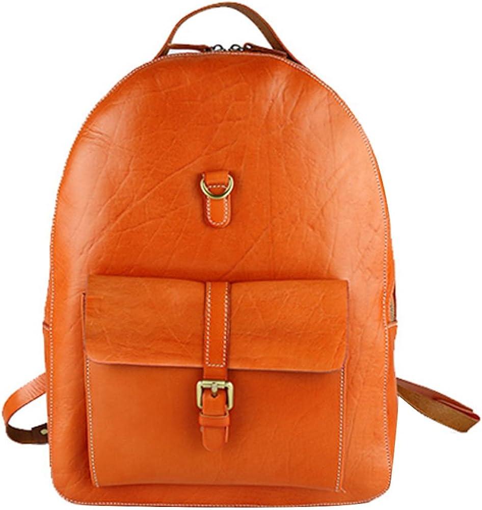 Genda 2Archer Leisure Genuine Leather Multi Purpose Backpack