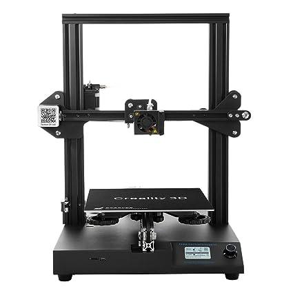 [Creality 3D Tienda directa] impresora 3D CR-20 Full Metal MK10 24V con Extruder y recuperar una impresión tras un corte de energía, 220x220x250mm ...