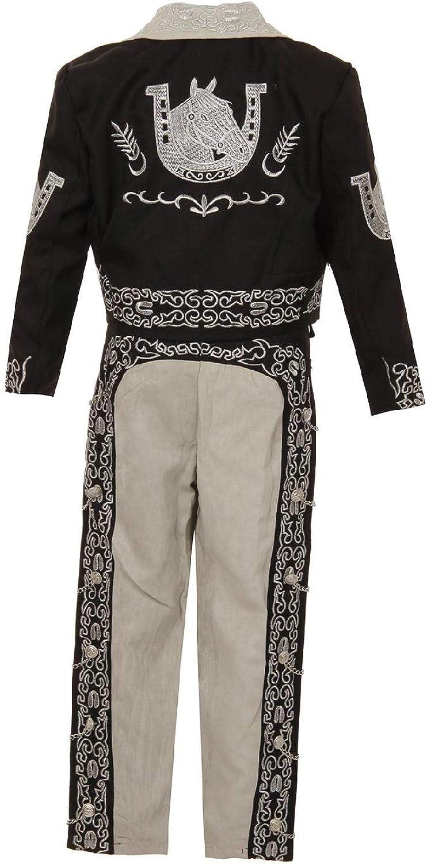 Amazon.com: Juego de 6 piezas de traje de mariachi Charro ...